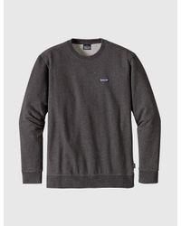 Patagonia Black P6 Label Sweatshirt for men