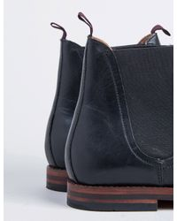 Hudson Black Tamper Chelsea Boot for men