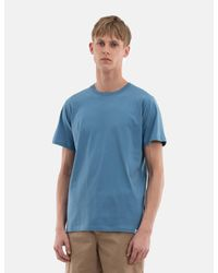 Norse Projects Blue Niels Standard T-shirt for men