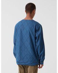 Manastash - Blue O.d Work Layer Jacket for Men - Lyst