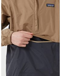 Patagonia - Natural Torrentshell Pullover for Men - Lyst