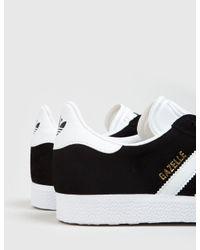 Adidas Originals Black Adidas Gazelle Sneakers