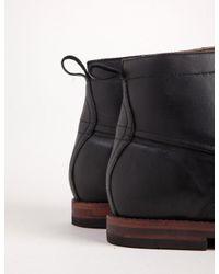 Hudson - Black Forge Leather Boot for Men - Lyst