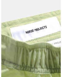 Norse Projects Green Hauge Swim Shorts for men
