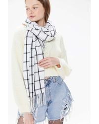 Urban Outfitters Multicolor Essential Plaid Scarf