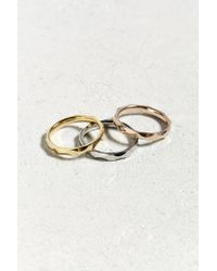 Urban Outfitters | Metallic Tritone Ring | Lyst