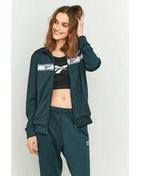 Reebok Zip-up Blue Tracksuit Jacket