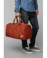 Herschel Supply Co. Orange Novel Weekender Duffle Bag for men