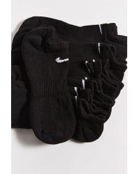 Nike Black Nike Perforated Cushion No-show Sock 6-pack for men