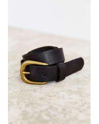 BDG - Black Boyfriend Leather Belt - Lyst