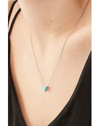 Urban Outfitters - Multicolor Cecilia Delicate Triangle Pendant Necklace - Lyst