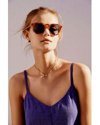 Urban Outfitters | Brown Every Day Round Sunglasses | Lyst