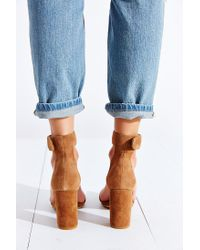 Jeffrey Campbell - Brown Holvey Suede Sandals - Lyst