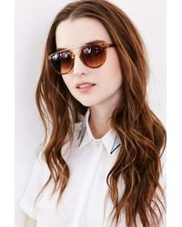 Urban Outfitters - Brown Future Babe Brow Bar Sunglasses - Lyst
