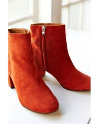Urban Outfitters Brown Thelma Suede Ankle Boot