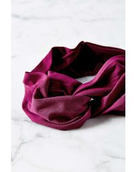 Urban Outfitters | Purple Crisscross Bella Headwrap | Lyst