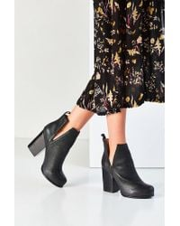 Jeffrey Campbell Black Oshea Ankle Boot