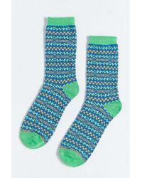 Urban Outfitters - Blue Skate Pattern Sock for Men - Lyst