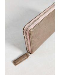 BDG Pink Zip Wallet