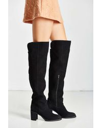 Jeffrey Campbell   Black Raylan Over The Knee Boot   Lyst