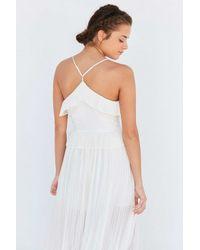 Keepsake White Love Struck Maxi Dress