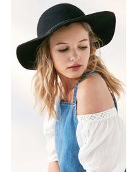 BDG | Black Wool Floppy Hat | Lyst