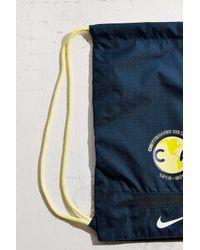 Nike - Blue Allegiance Club America Gym Sack - Lyst