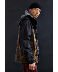 The North Face - Green X Uo Camo Resolve Jacket for Men - Lyst