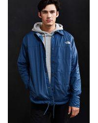 131b8d30d Men's Blue Fort Point Reversible Flannel Jacket