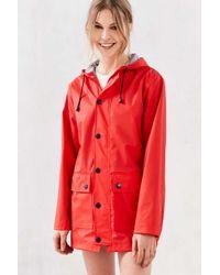 Petit Bateau Red Raincoat