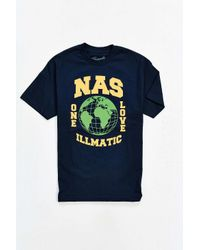 Urban Outfitters   Blue Nas One Love Tee for Men   Lyst