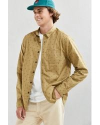 Urban Outfitters | Multicolor Uo Diamond Print Button-down Shirt for Men | Lyst