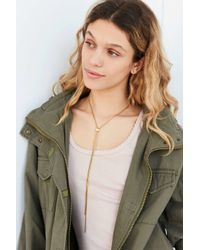 Urban Outfitters   Metallic Austin Simple Bolo Lariat Necklace   Lyst