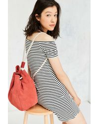 Urban Outfitters | Multicolor Rope Cord Bucket Backpack | Lyst