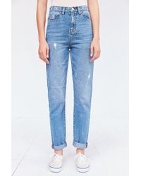 BDG - Blue Mom Jean - Vintage Wash - Lyst