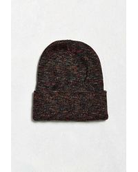Urban Outfitters | Black Uo Marled Beanie for Men | Lyst