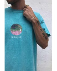Urban Outfitters Green Uo Inverted Photo T-shirt for men