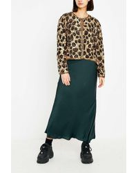 Urban Renewal Brown One-of-a-kind Leopard Sequin Jacket
