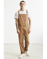 BDG | Brown Dense Cotton Canvas Overall for Men | Lyst