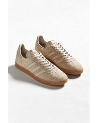 Adidas Originals Brown Gazelle Gum Sole Sneaker for men