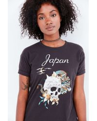 Truly Madly Deeply | Black When In Japan Tee | Lyst
