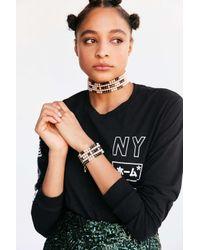 Venessa Arizaga | White Whatcha Say Pearl Choker Necklace | Lyst