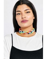 Venessa Arizaga | Multicolor Candy Queen Pearl Choker Necklace | Lyst
