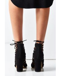 Urban Outfitters - Black Jessica Lace-up Heel - Lyst