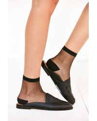 Urban Outfitters | Black Carrie Loafer Mule | Lyst