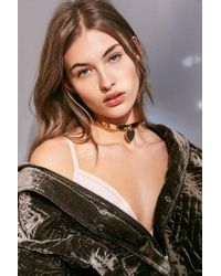Urban Outfitters - Metallic Forever + Always Choker Necklace - Lyst