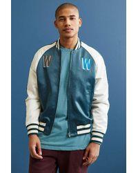 WOOD WOOD | Blue Ross Varsity Jacket for Men | Lyst