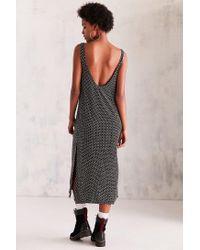 Cooperative - Black Daphne Scoop-back Midi Slip Dress - Lyst