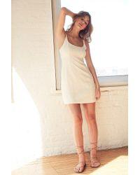 Kimchi Blue | White Floral Jacquard Mini Dress | Lyst