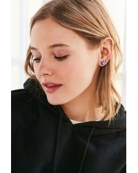 Urban Outfitters | Blue Dale Glass Bead Post Earring Set | Lyst